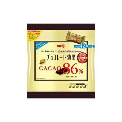 明治 チョコレート効果カカオ86%大袋
