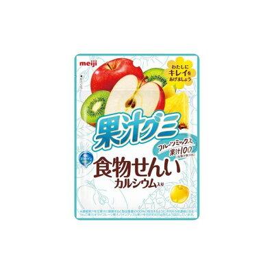 明治 果汁グミ食物せんいフルーツミックス