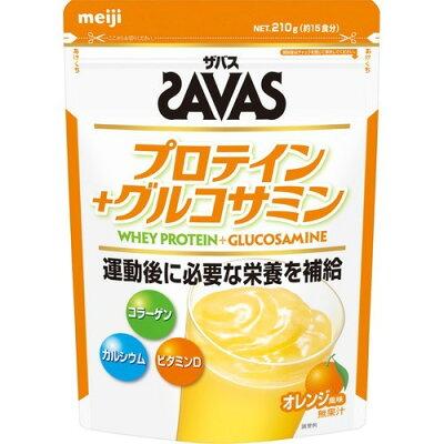ザバス プロテインプラスグルコサミン 約15食分(210g)