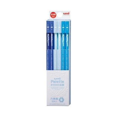 三菱鉛筆 鉛筆B  パステルブルー 5560