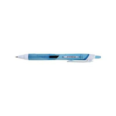 uni ノック式油性ボールペン ジェットストリーム 0.7 水色