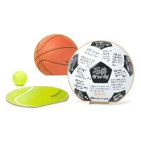 (midori/ミドリ)カラー色紙 MESSAGE BALL 丸形 野球ボール柄 33195006