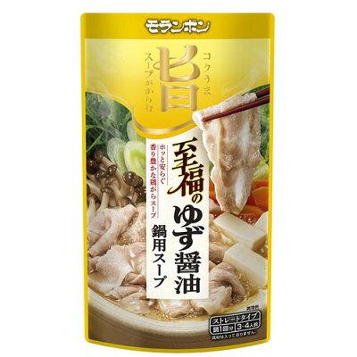 モランボン 至福のゆず醤油 鍋用スープ(750g)