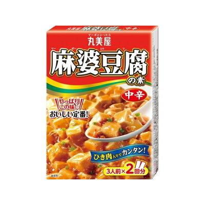 丸美屋食品工業 丸美屋 麻婆豆腐の素 中辛 箱入 162g