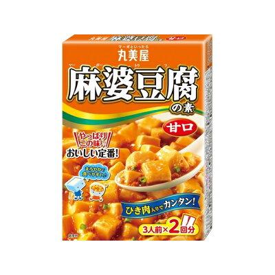 丸美屋食品工業 丸美屋 麻婆豆腐の素 甘口 箱入 162g