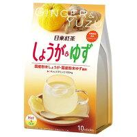 日東紅茶 しょうが&ゆず(10g*10袋入)