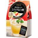 日東紅茶 厳選果汁のとろける白桃(10本入)