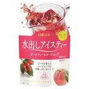 日東紅茶 水出しアイスティー ピーチティー&ローズヒップ 500ml用(3g*12袋入)
