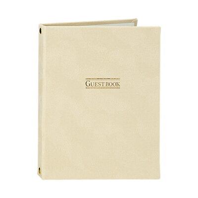 プリマージュ カード式ゲストブック-プレーン クリーム - マルアイ