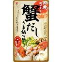 盛田 国産紅ずわい蟹だしうま鍋つゆ ストレート(750g)