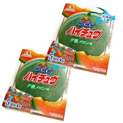 森永製菓 ハイチュウ 夕張メロン味 5本