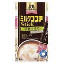 森永製菓 ミルクココア カロリー1/4 スティック 5本 50g