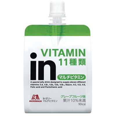 ウイダーinゼリー マルチビタミン グレープフルーツ味(180g*6コ入)