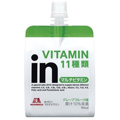 森永製菓 inゼリー マルチビタミン グレープフルーツ味(180g*36コ入)