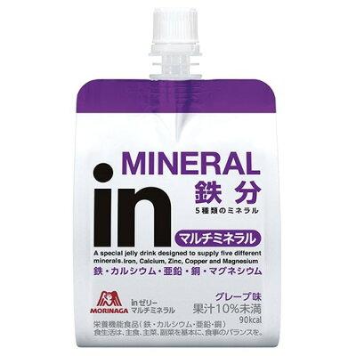 森永製菓 inゼリー マルチミネラル グレープ味(180g*6コ入)