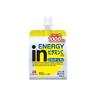 森永製菓 inゼリー エネルギーレモン ビタミンCプラス 180g