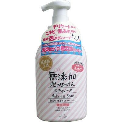 肌荒れふせぐ 薬用無添加泡ボディソープ(450mL)