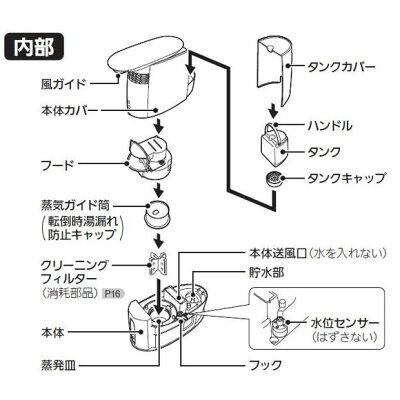MITSUBISHI パーソナル保湿機 SH-KX1-W