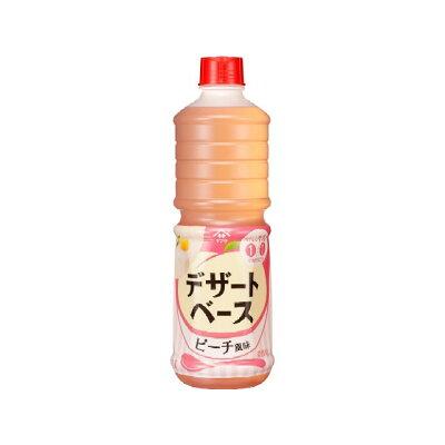 ヤマサ醤油 デザートベース ピーチ風味 1Lパック