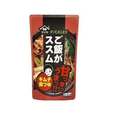 ヤマサ醤油 ご飯がススム キムチ鍋つゆ750gパウチ