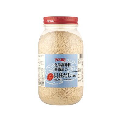 ユウキ食品 化学調味料無添加の貝柱だし