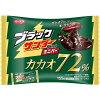 有楽製菓 ブラックサンダー ミニバー カカオ72% 155g