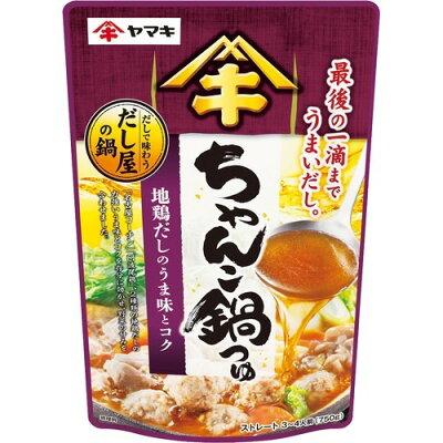 ヤマキ だしで味わうちゃんこ鍋つゆ750g