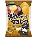 山芳製菓 ポテトチップス 男気マヨビーフ 辛口 95g