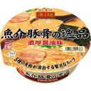 ニュータッチ 凄麺 魚介豚骨の逸品 122g
