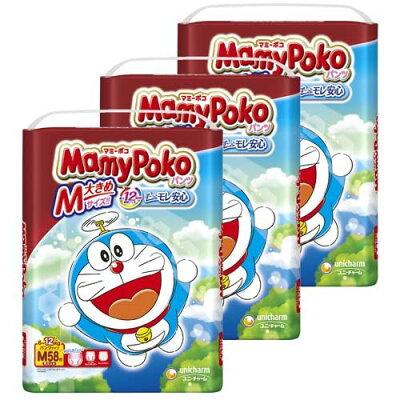マミーポコ パンツ ドラえもん M 58枚(3個セット)