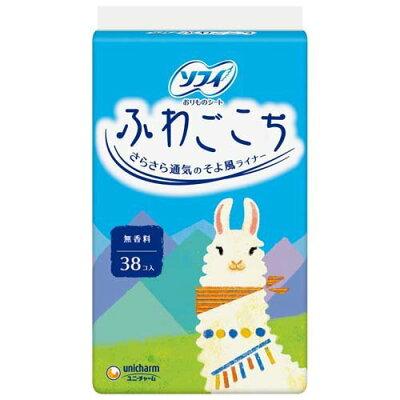 ソフィ ふわごこち 無香料(38枚入)