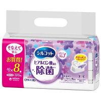 シルコット 除菌ウェットティッシュ アルコールタイプ ヒアルロン酸 つめかえ用(40枚*8コ入)