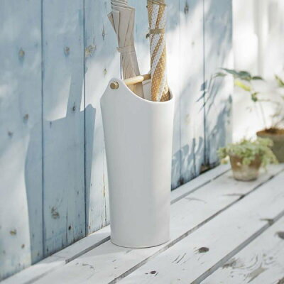 陶器傘立て コモ ホワイト(1コ入)