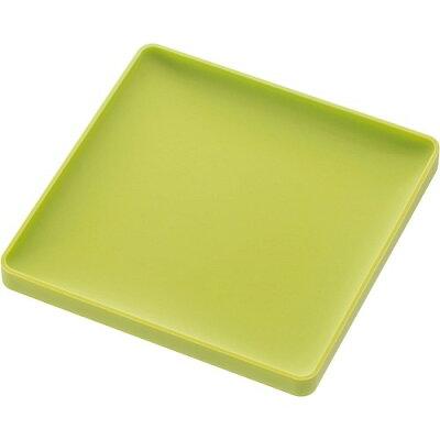 立体コースター アクア 角型 グリーン(1コ入)