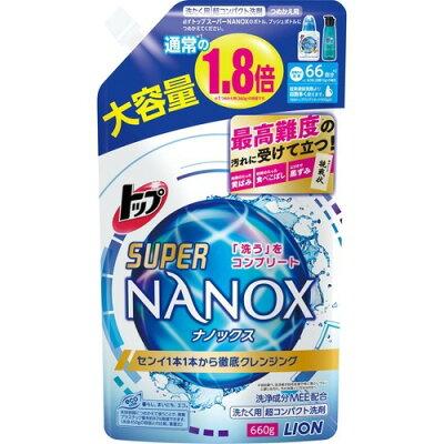 トップ スーパー ナノックス 詰替 大(660g)