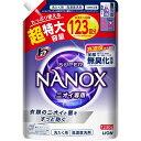 トップ スーパーナノックス ニオイ専用 抗菌 高濃度 洗濯洗剤 液体 つめかえ用 超特大(1230g)