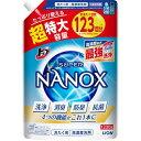 トップ スーパーナノックス 高濃度 洗濯洗剤 液体 詰め替え 超特大(1230g)