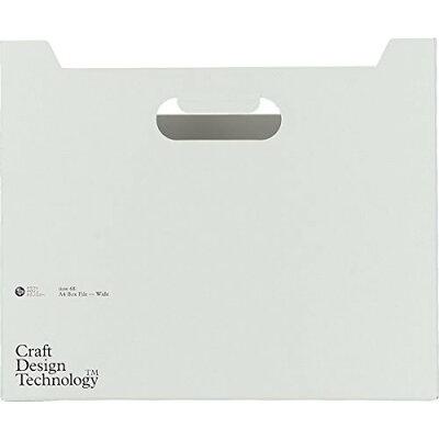 Craft Design Technology ボックスファイル 横型 (グレー) item68:Box File-Wide