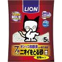 猫砂 ニオイをとる砂 7歳以上用 鉱物タイプ(5L)
