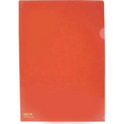 カラークリヤーホルダー A4 赤