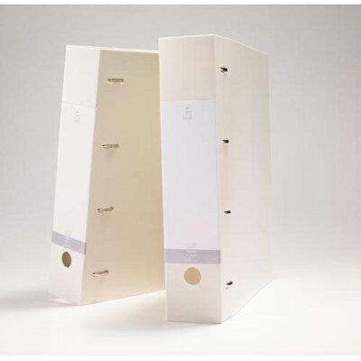 リクエスト D型リングファイル A4・S型 4穴 白