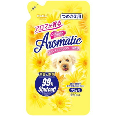 ペティオ エアセレブ アロマティック 消臭剤 ロマンティックフラワー(250ml)