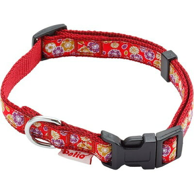 犬雅 桜と菊カラー S レッド(1コ入)