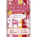 南国の紅茶タイム ピンク トロピカルフルーツティーの香り 30m×12ロール ダブル