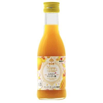 中田食品 とろこくマンゴー姫 マンゴーたっぷり梅酒 180ml