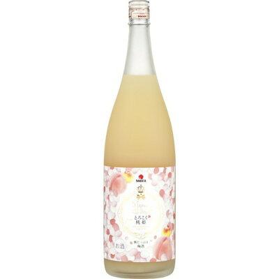 とろこく桃姫 桃たっぷり梅酒(1800ml)