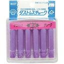 日本理化学工業 ダストレス蛍光チョーク 6本入 紫 DCK-6-V PTY4506