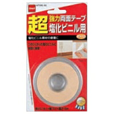超強力両面テープ 塩化ビニル用15×10