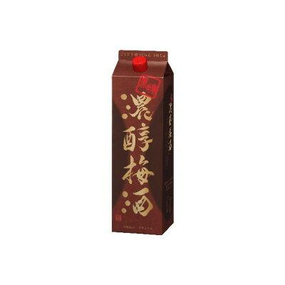 黒糖濃醇梅酒14度1.8L紙パック