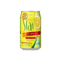 アサヒビール Slat果肉入りすっきりレモン缶350
